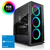 Kiebel Gamer-PC [184339] - AMD Ryzen 5 1500X 4x3.5GHz | 16GB DDR4-2133 | 256GB M.2 SSD + 1TB HDD | NVIDIA GeForce GTX 1060 3GB | ASUS | DVD | HD-Sound | LAN | Windows 10 | Gaming Computer