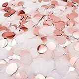 iZoeL Confettis Rose Gold 30g Papier de Soie Décoration de Table.