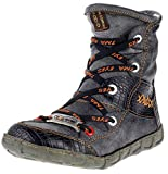 TMA Dvina Damen Stiefeletten Winterschuhe Boots 2082 (36, Schwarz)