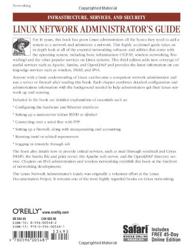 Linux Network Administrator's Guide