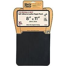 Reparación Cuero, Polipiel y Skai - Parches Adhesivos - MastaPlasta - Rectangulo XL (200x280mm) (Negro)