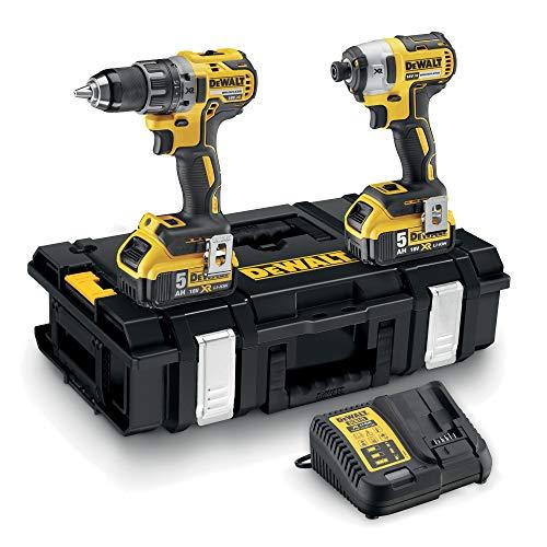 DeWalt DCK266P2-QW - Kit XR taladro percutor bateria