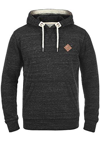 !Solid Kevin Herren Kapuzenpullover Hoodie Pullover Mit Kapuze Und Fleece-Innenseite, Größe:S, Farbe:Black (9000)