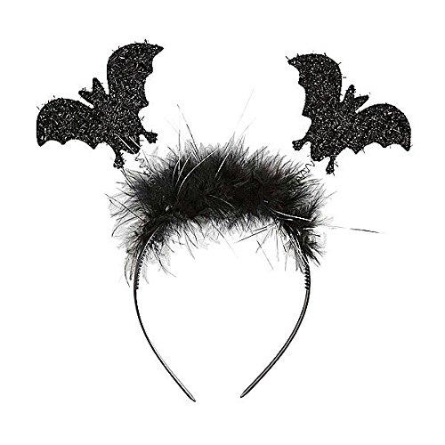 Haarreif Fledermaus, Karneval, (Halloween Kostüm Post)