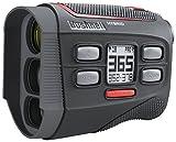 Bushnell - Telemetro Ibrido Laser e GPS, Taglia Unica, Colore: Nero/Rosso
