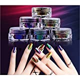 Super Chameleon Optisches Spiegel-Nagelpulver , 5#