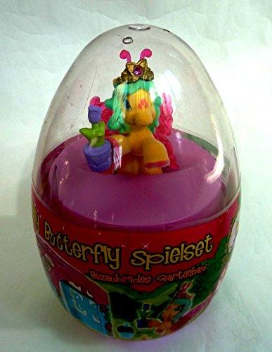 Filly Butterfly Spielset (Mega-Ei), bezauberndes Gartenhaus mit exclusivem Filly Alyssa (mit...