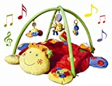 Best Baby Play Gyms - Baby Activity Gym/Mat - Turtle Smiley Face Head Review
