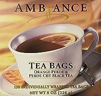 1 X 100 Ambiance Orange Pekoe & Pekoe Cut Black Tea Bags