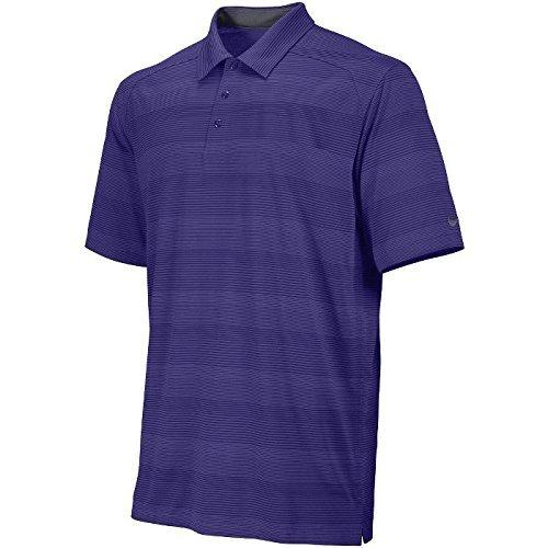 Nike Men's Dri-FIT Preseason Tech Stripe Polo (Shirt Stripe Sheer)