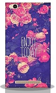 Enjoy Today -Mobie Back Case Cover For Redmi 3S