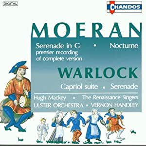 Early 20th-Century English Music: E J Moeran, Peter Warlock