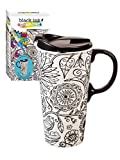 Best Nature Insulated Travel Coffee Mugs - Cypress Home Nature in Color Coloring Book Ceramic Review