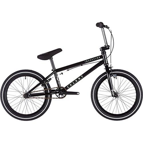colonie Inception Vélo BMX 201745,7cm Top Tube 45,7cm Roue Noir brillant/chrome