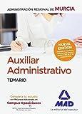 Auxiliar Administrativo de la Administración Regional de Murcia. Temario
