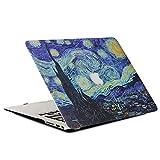 AQYLQ Funda para MacBook Air 13 2018 Carcasa MacBook Air 13 Pulgadas para Apple Macbook Air 13 Inch A1932, Patrón Recubierto de Goma Plástico Cubierta - Star Dreams 37