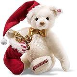 Steiff 006562 Sweet Santa Teddybär 27 cm weiß 5-Fach gegliedert