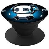 Multifunktion Halterung und ausziehbarer sockel für Smartphones smartphones und tablets Ständer Panda Musik