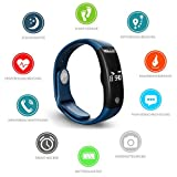 POLLIX - Fitness Activity Tracker (Blau) - 3