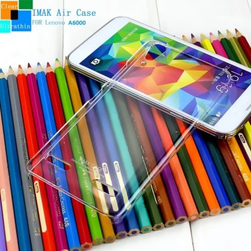 Imak Crystal Clear Hot Transparent Thin Hard Best Back Case Cover For Lenovo A6000 4G - Clear