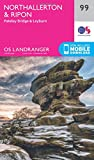 Northallerton & Ripon, Pateley Bridge & Leyburn (OS Landranger Map)