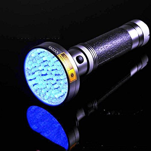 100 LED Uv-schwarzlicht-taschenlampe, Mit Uv-sonnenbrille (395nm UV-LED), Urin Und Flecken-Detektor Für Haustierkatze Schwarzlicht, Skorpione, Schimmel & Lecksucher Für Gewerbe Oder Zuhause, -