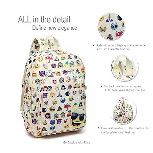 8a5665495bccf Canvas Schulrucksack 3 Stück SET Rucksäcke Backpack Daypacks Federmappe  Geldbörse Schule Reise Shopper (E6629- ...