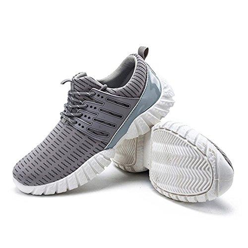 QIMAOO Homme Mode Chaussures de Multisports extérieur Bradysisme et Confortable Gris