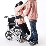 HANSHI HYL85 - Cintura da passeggio con 4 maniglie laterali, cintura di sicurezza per sedia a rotelle, utile per anziani e disabili