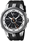 Perrelet Men's A1050/4 Turbine XL Analog Display Swiss Automatic Black Watch