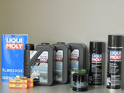 Kit di manutenzione Yamaha FZ6Fazer Olio Filtro olio candela catena Service ispezione