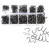 #3: Fishing Hooks 10 Sizes 500 pcs