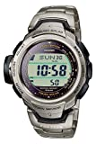 Casio Sport Unisex-Armbanduhr Pro-Trek-Funk-Solar-Kollektion Digital Quarz PRW-500T-7VER