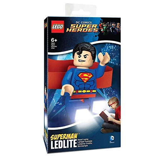 Lego DC Superman Head Lamp [With Battery]