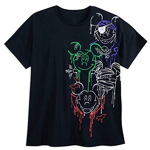 Disney Mickey Mouse Halloween T-Shirt for Men - Plus Size Size Mens 4XL Multi