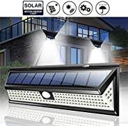 Ronshin Electronic 118 LED Solar Lamp Outdoor Garden Yard Waterproof PIR Motion Sensor Wall Light