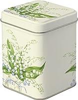 Boîte à thé–113,4gram–Petit carré–Muguet Design–9.5cm