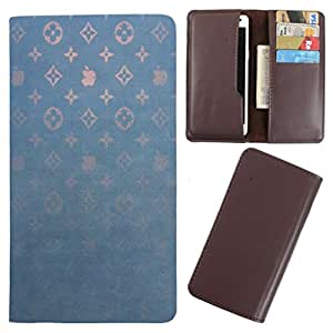 DooDa - For Alcatel POP C1 PU Leather Designer Fashionable Fancy Case Cover Pouch With Card & Cash Slots & Smooth Inner Velvet