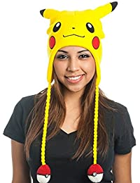 Pokemon Pikachu Laplander Beanie Yellow