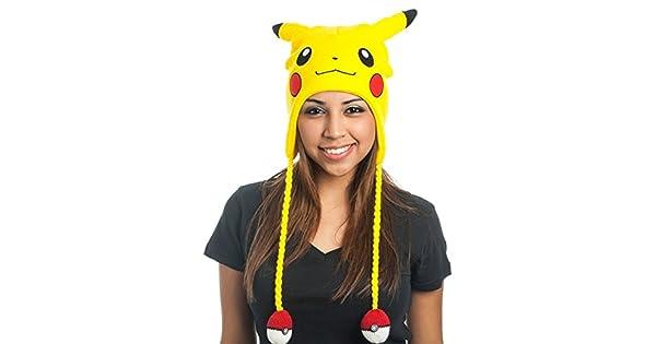 295dcb449d56 Bonnet  Pokémon    Laplander Pikachu avec Pokeball  Amazon.fr  Jeux vidéo