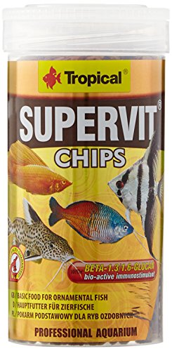 TROPICAL Supervit Chips pour Aquariophilie 250 ML - Lot de 2