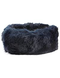 6aad9ae141a Hawkins Elasticated Faux Fur headband with fleece lining