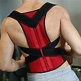 Postura correttore uomini ortopedici supporto posteriore cintura brace vita maschio stand da raddrizzatore spalla