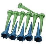 automatischen Bewässerung,, 12x automatischen Bewässerung, Bewässerung Spike Garten Pflanze Blume Drip Sprinkler Wasser blau grün