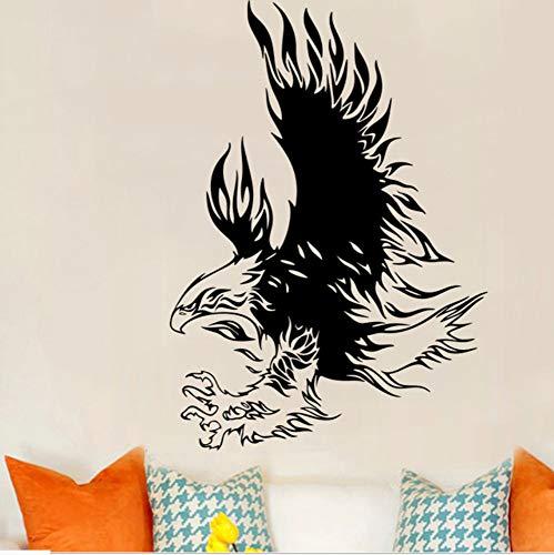 Cchpfcc Kreative Seahawk Wandtattoo Für Zimmer Dekoration Wohnzimmer Dekor Eagle Hawk Wandaufkleber Beliebte Wandbilder Home Decor Size43 * 64 Cm