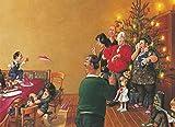 Postkarte A6 • 1482 ''Fröhliche Weihnachten'' von Inkognito • Künstler: Gerhard Haderer • Weihnachten