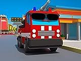 Superheld Feuerwehrauto