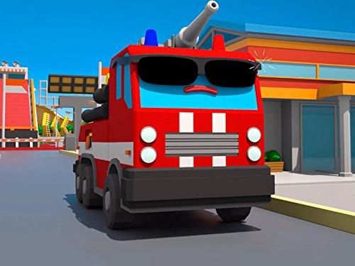 Superheld Feuerwehrauto (Brennen Sie Es Tun)