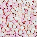 2.000 g Louisiana Mini-Marshmallows - lecker softes Naschwerk Schaumzucker-Tubes - beste Qualität - 4 verschiedene Farben - verpackt zu je 50 g - zum Backen Dekorieren Kindergeburtstag Wurfmaterial und als Gastgeschenk - ohne Fett