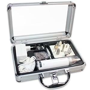 Maniquick - MQ250NEW - Appareil de Pedicure Manucure Professionnel - 4 vitesses 16 accessoires